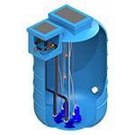 EnviroLift Fibreglass Pump Station-1