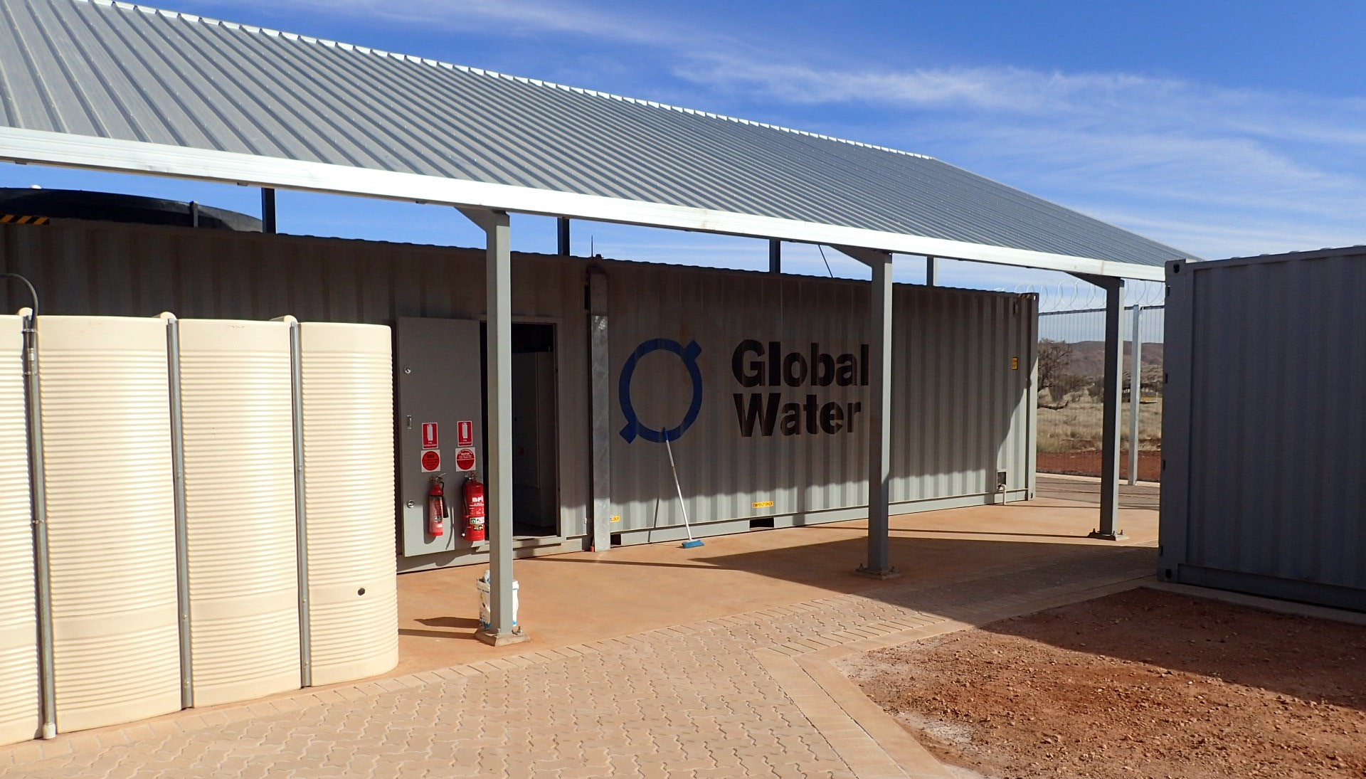 Global Water's wastewater treatment facility